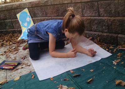 Creating outside