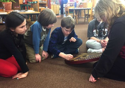 Exploring the sounds of the Zither