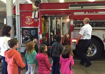Learning how fire trucks work